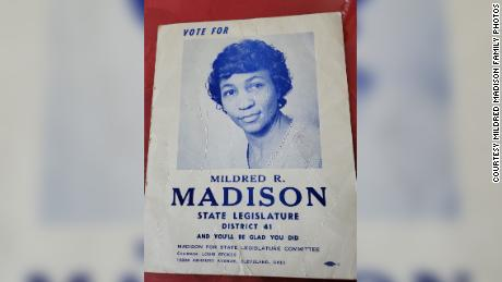 Madison ran for state representative in 1968.