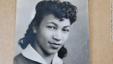 Mildred Madison, as seen in high school in 1944, has a long history of activism and politics.