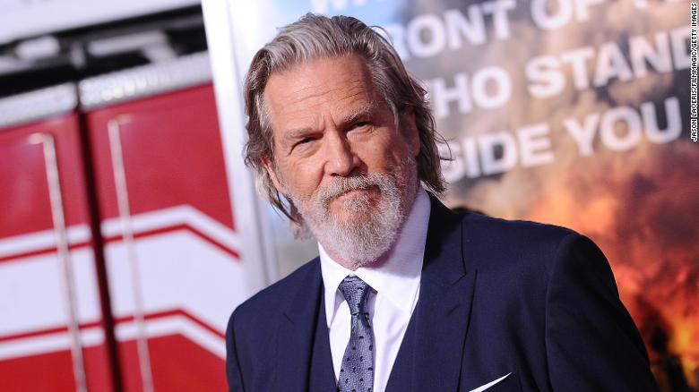 Jeff Bridges announces he was diagnosed with lymphoma