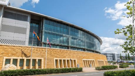GCHQ headquarters is in Cheltenham, Engeland.