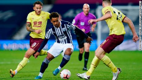 Burnley and West Brom played out a 0-0 draw on Monday which was available via PPV.