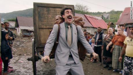"""Borat Subsequent Moviefilm"" is streaming on Amazon."