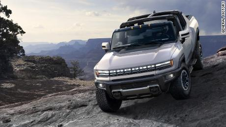 The Hummer is making a comeback -- and this time, esso's all-electric