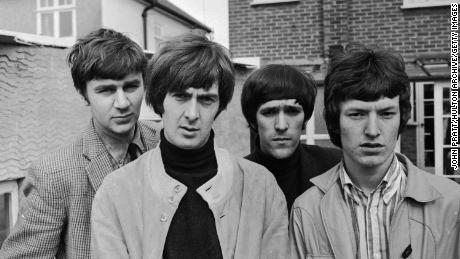 The Spencer Davis Group in 1966 -- Pete York, Spencer Davis, Muff Winwood and Steve Winwood