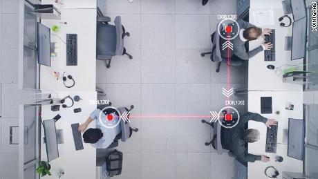 Smart sensors could track social distancing in the office