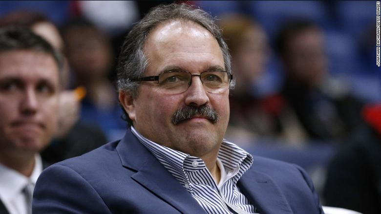 Stan Van Gundy agrees to deal to become head coach of New Orleans Pelicans
