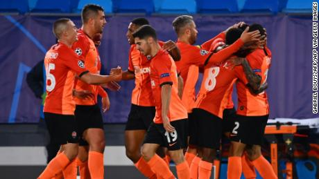 Shakhtar Donetsk beat Real Madrid 3-2 in a stunning Champions League win on Wednesday.