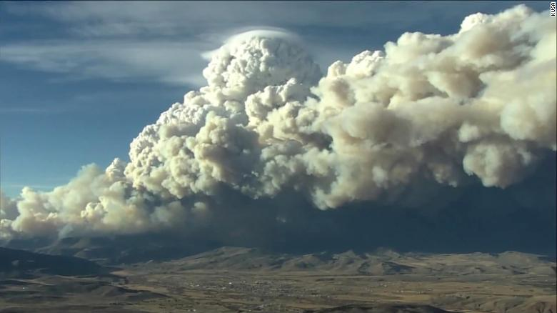Colorado's East Troublesome Fire is growing rapidly and forcing evacuations