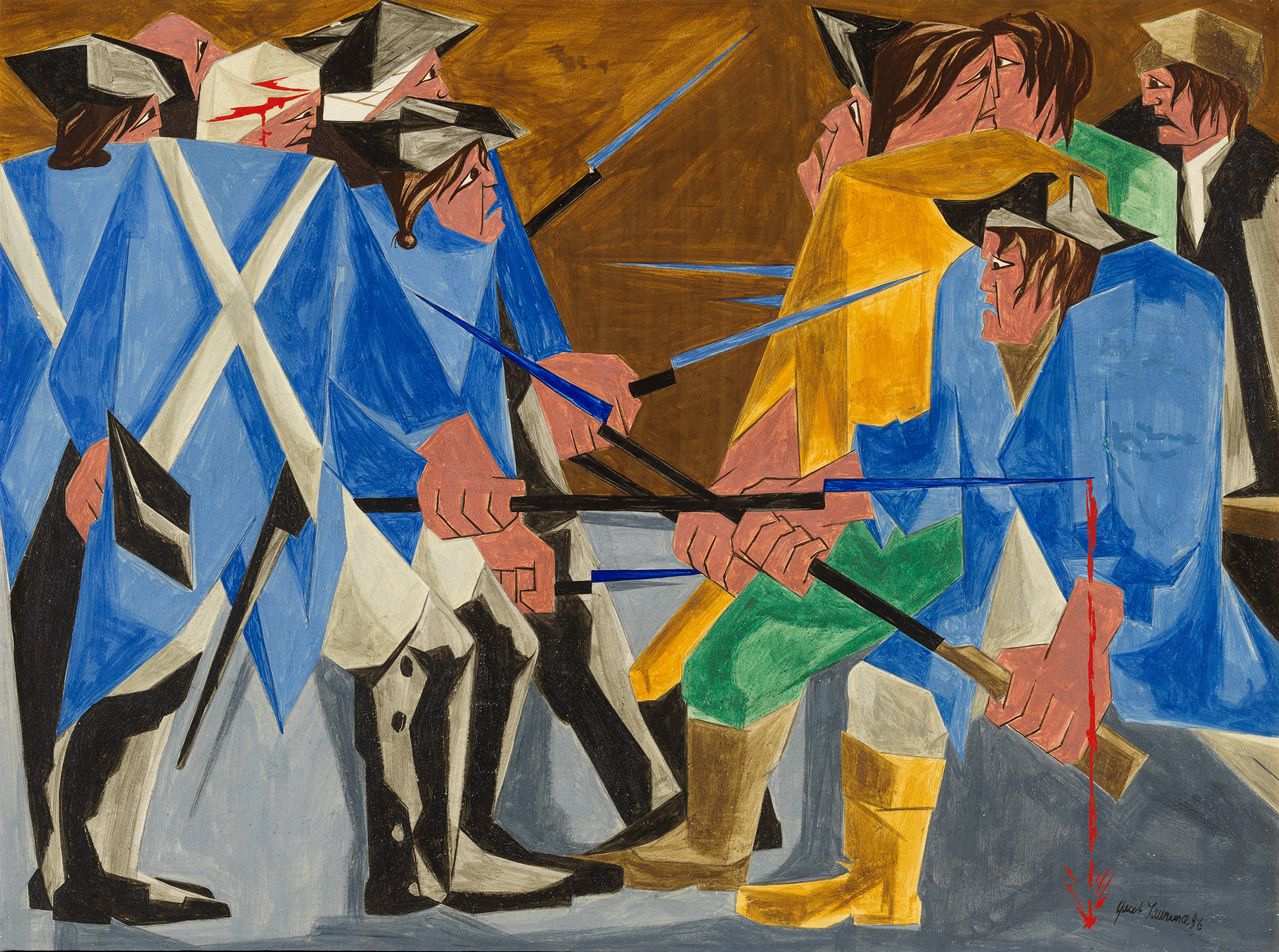 A Missing Painting By Renowned Black Artist Jacob Lawrence Has Resurfaced After 60 Years Cnn Style