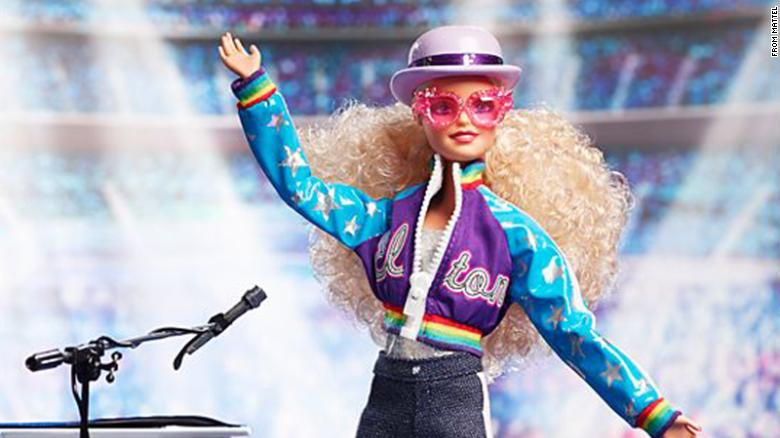 Elton John is getting his own Barbie doll