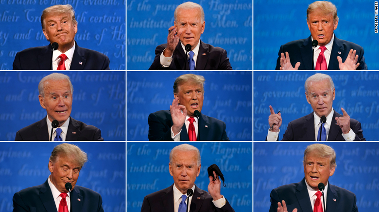 Trump, Biden argue over their tax returns