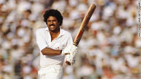Dev is one of India's most revered cricketers, and captained the national team to World Cup victory in 1983.