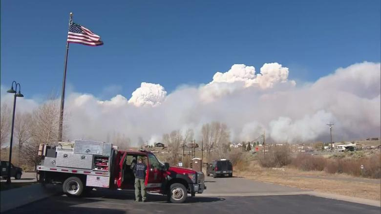 East Troublesome wildfire becomes second largest in state history