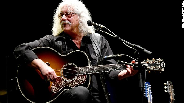 Folk singer Arlo Guthrie says he's retiring after health setbacks