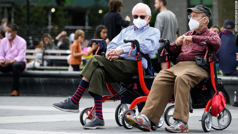 Seniors are better at pandemic safety than young adults, CDC는