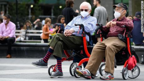 Most Americans have been wearing masks since spring, the CDC says