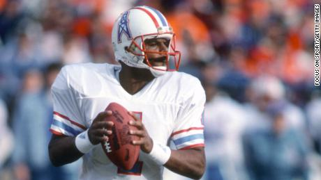 Warren Moon is the only Black quarterback in the NFL Hall of Fame.
