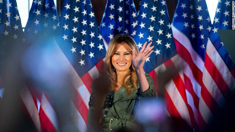 Melania Trump posts video that misleads on the President's LGBTQ policies