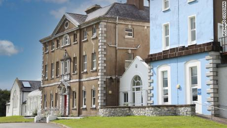 The Bessborough mother and baby home in Ireland's southwest County Cork, seen in 2018.