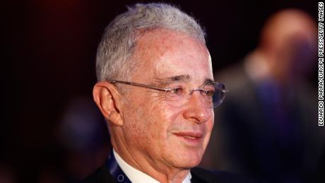 Former President Álvaro Uribe.