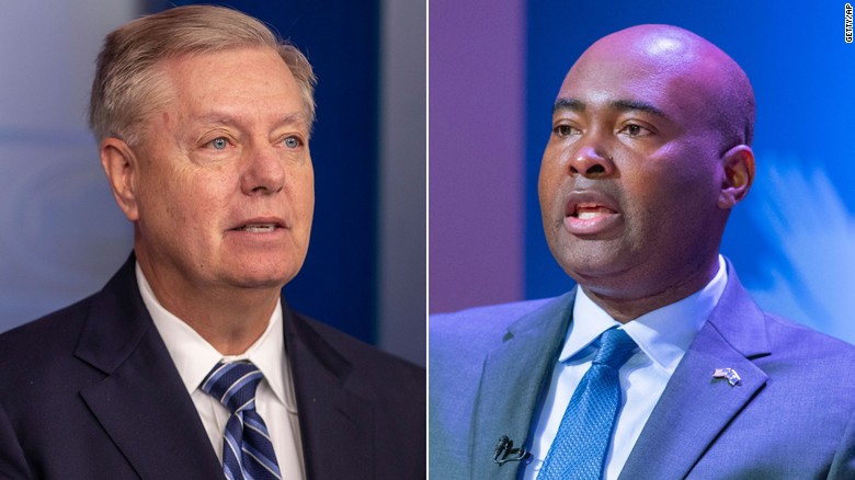 Republican Lindsey Graham defeats well-funded Democratic challenger Jaime Harrison in South Carolina