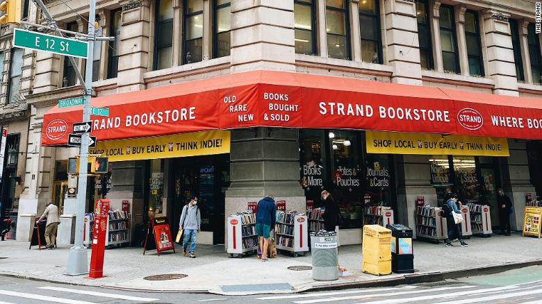 New York's Strand bookstores received 25,000 orders in one weekend after asking for help