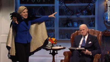 Jim Carrey's Joe Biden opens 'SNL' with a scary election-themed tale