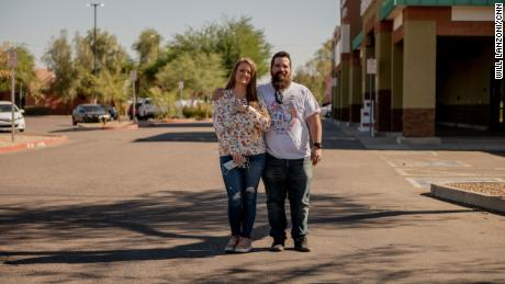 Chase and Amanda Johnson both voted for President Trump.