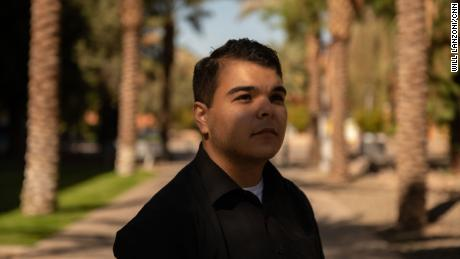 Jacob Martinez, a sophomore at Arizona State University, left the Republican Party because of President Trump and now works as a Democratic organizer.
