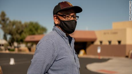 Retired truck driver Bob Rodriguez voted for President Donald Trump.