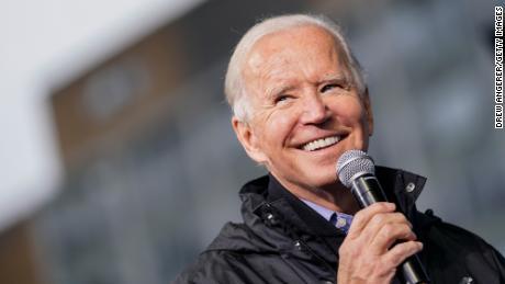 Someone in the UK just put down a million-pound bet on Joe Biden