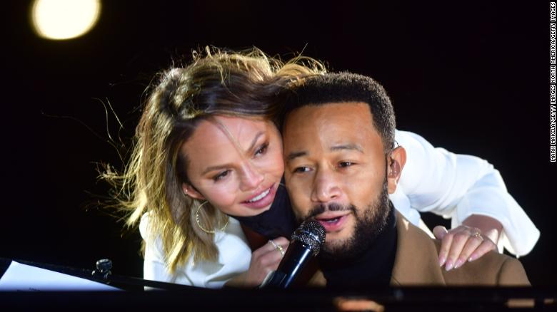 John Legend and Chrissy Teigen give their kids an early lesson in citizenship