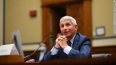 """Fauci: A smooth transfer between presidents is important for public health, """"like passing the baton in a race"""""""