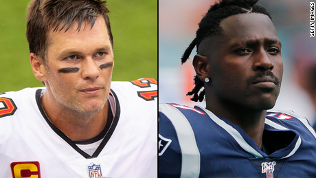 Brady says he's keen to help Brown settle in at the Buccaneers.
