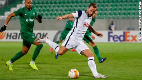 Kane scores against Ludogorets.