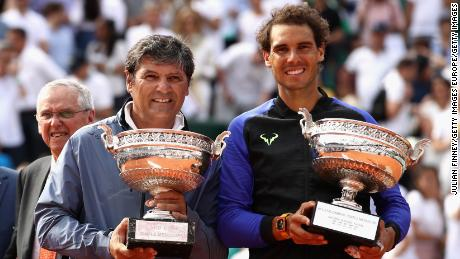 Toni Nadal coached Rafael Nadal to the majority of his 20 grand slam titles.
