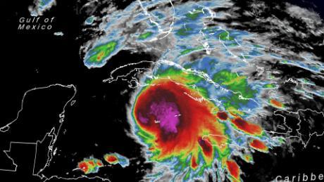 Tropical Storm Eta is charging toward Florida