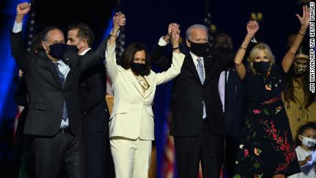 رئیس جمهور منتخب جو بایدن با سخنرانی پیروزی به دنبال اتحاد ملت است