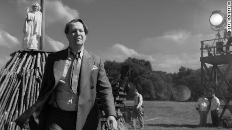 Gary Oldman as Herman J. Mankiewicz in 'Mank.'