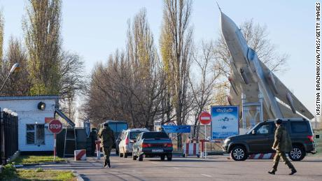 At least 3 dead in shooting at Russian military base