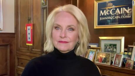 Cindy McCain says her husband would have wanted Biden recognized as President-elect