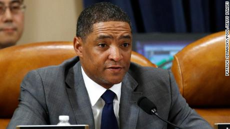 Rep. Cedric Richmond, a Louisiana Democrat, votes to approve the second article of impeachment as the House Judiciary Committee holds a public hearing on Capitol Hill on December 13, 2019.