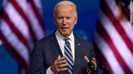 Biden says Trump's actions are 'an embarrassment' but won't impede transition effort