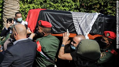 Funeral ceremonies honor top Palestinian negotiator Saeb Erekat