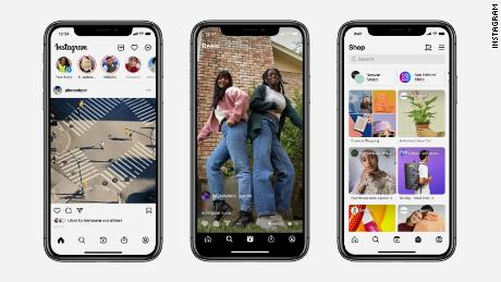 Instagram redesigned its home screen to include a dedicated button for Reels.