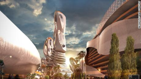 Pop star Akon has a radical design plan for his proposed city in Senegal.