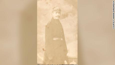 Benjamin Heidelberger in his WWI German army uniform