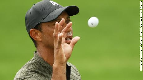 Tiger in the hunt at US Masters after strong opening round at Augusta National