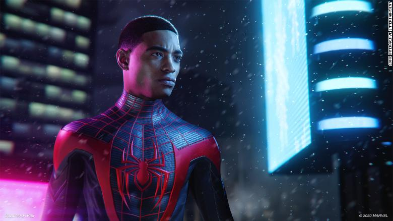 How Miles Morales in his own Spider-Man video game confronts racial disparity in gaming