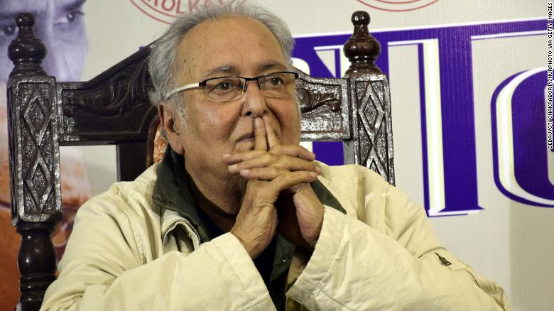 Soumitra Chatterjee, Indian acting legend, dies from Covid complications